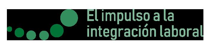 """imagen del slogan """"El impulso a la integración laboral"""""""
